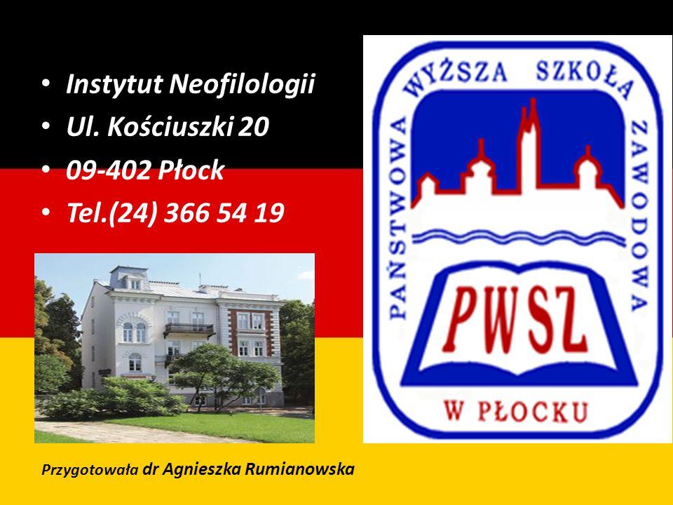 Instytut Neofilologii Ul.