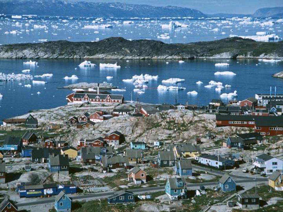 Ilulissat (duń.Jakobshavn) trzecie pod względem wielkości miasto Grenlandii.