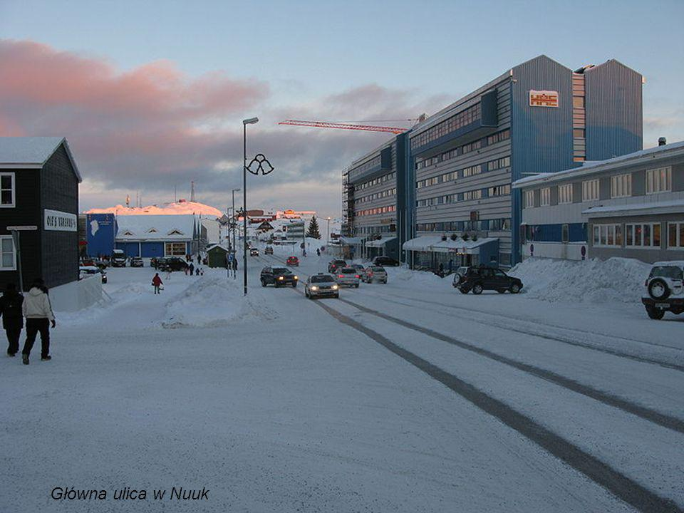 Główna ulica w Nuuk