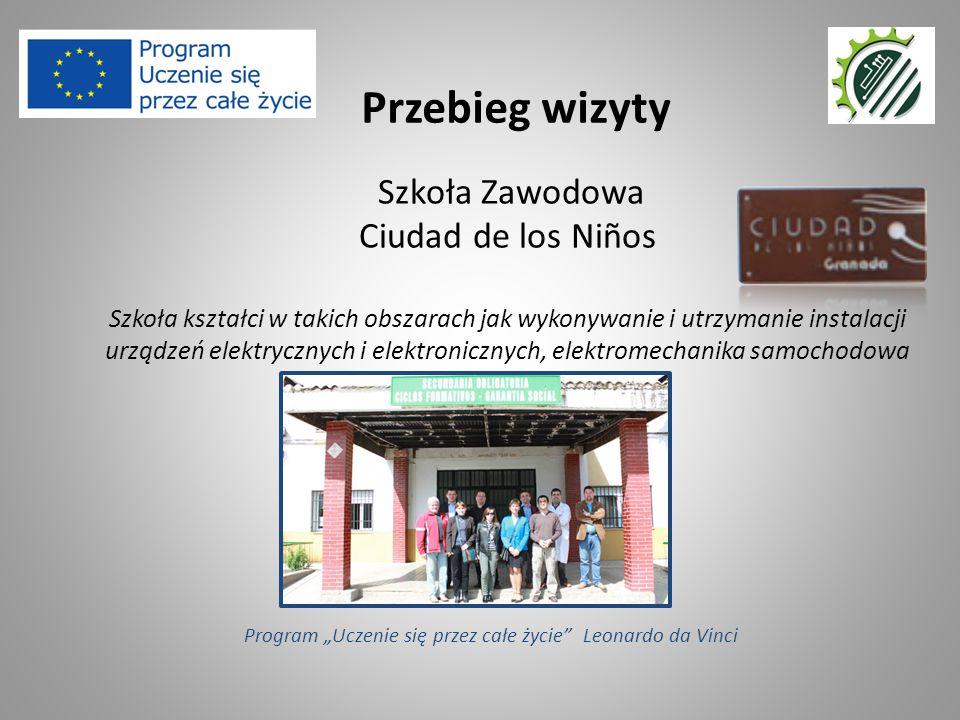 Szkoła Zawodowa Ciudad de los Niños Szkoła kształci w takich obszarach jak wykonywanie i utrzymanie instalacji urządzeń elektrycznych i elektronicznyc