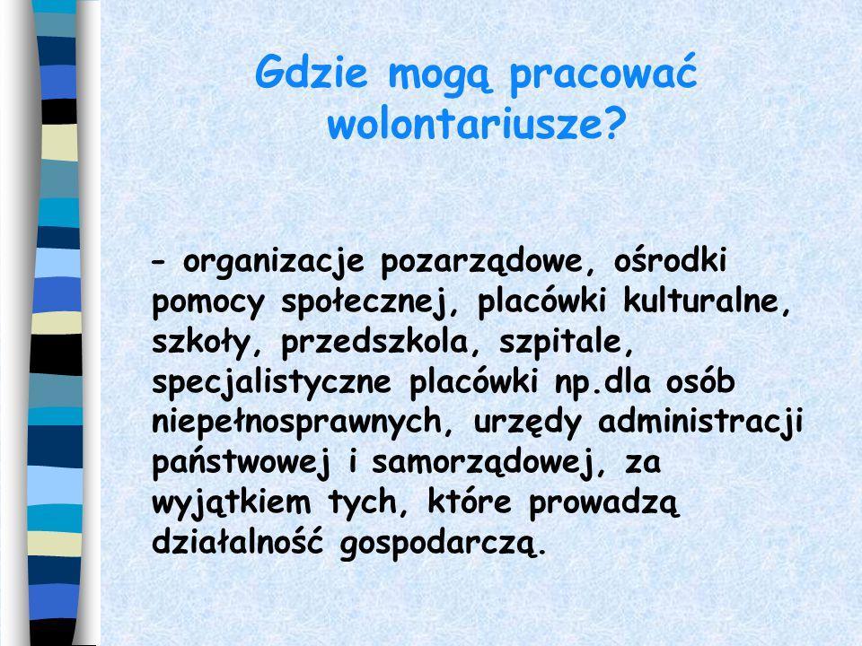 """WOLONTARIUSZ - inaczej 4 Inne nazwy wolontariusza -synonimy : - ochotnik, społecznik, pasjonat, filantrop, dobroczyńca,entuzjasta, """"wrażliwiec"""", aktyw"""
