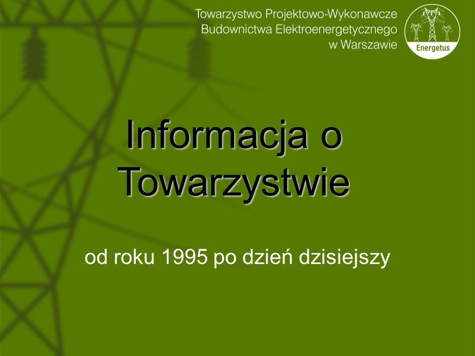 Informacja o Towarzystwie od roku 1995 po dzień dzisiejszy