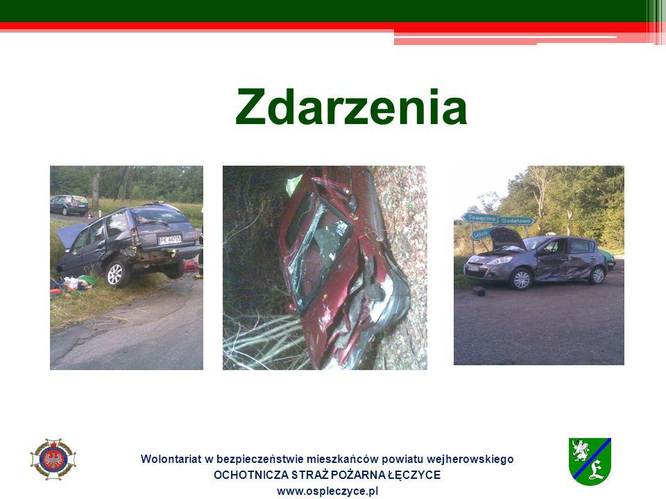 Zdarzenia Wolontariat w bezpieczeństwie mieszkańców powiatu wejherowskiego OCHOTNICZA STRAŻ POŻARNA ŁĘCZYCE www.ospleczyce.pl