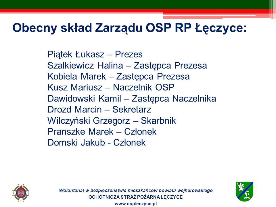 Wolontariat w bezpieczeństwie mieszkańców powiatu wejherowskiego OCHOTNICZA STRAŻ POŻARNA ŁĘCZYCE www.ospleczyce.pl MŁODZIEŻOWA DRUŻYNA POŻARNICZA – WYMIANA MIĘDZYNARODOWA W 1992 r.