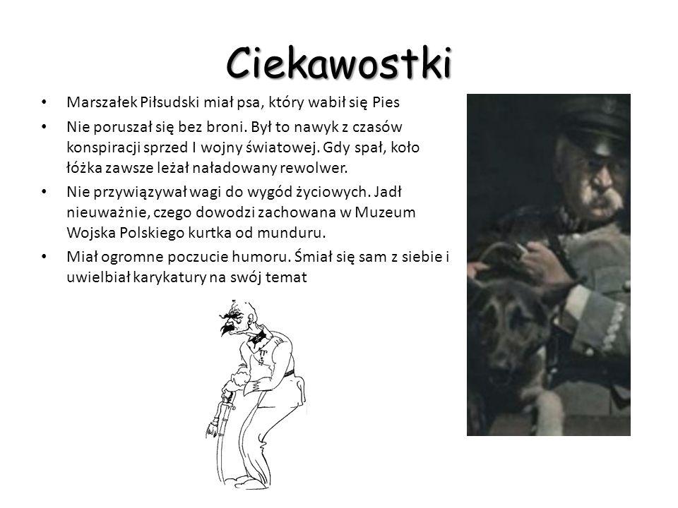Stoję przed jakąś dziwaczną trąbą… Kliknij na patefon, aby usłyszeć głos Piłsudskiego!