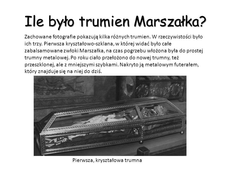Mundury Piłsudskiego Dwie kurtki mundurowe Marszałka ze zbiorów Muzeum Wojska Polskiego w Warszawie i Muzeum Narodowego w Krakowie