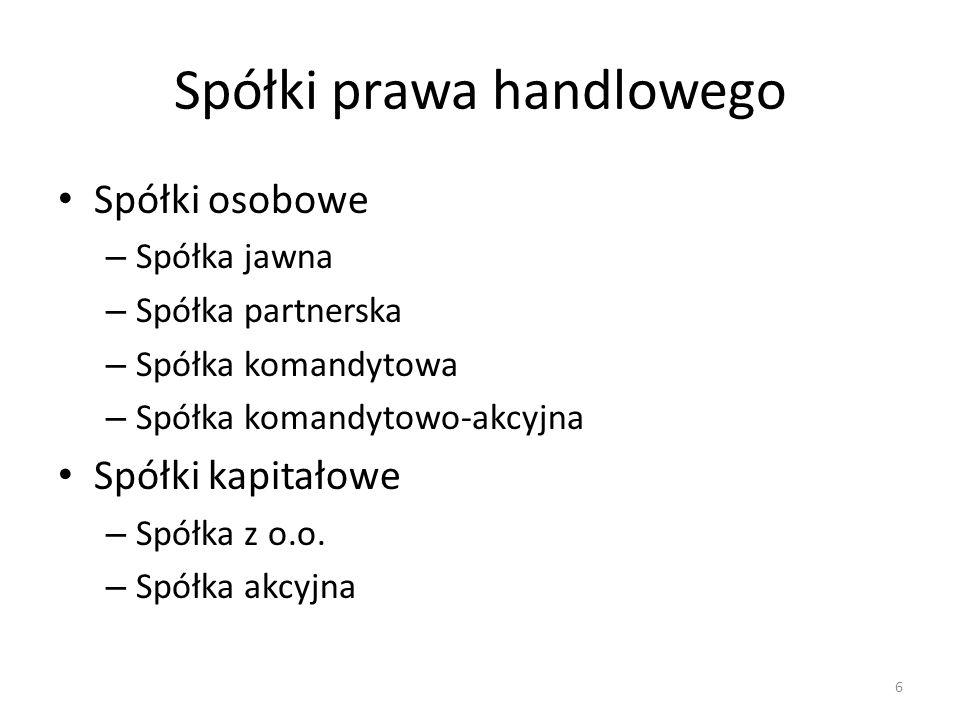 7 Spółka jawnaSpółka partnerskaSp.k.S.K.A.