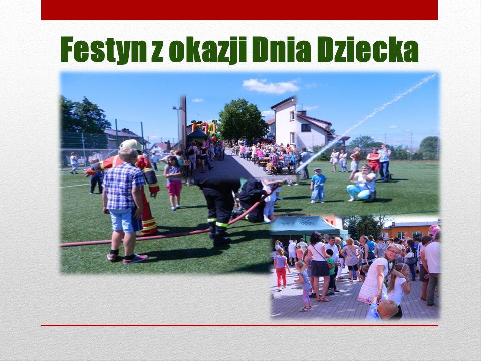 Festyn z okazji Dnia Dziecka
