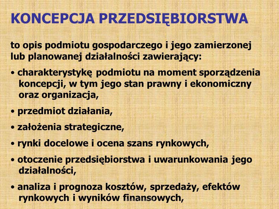 Dwa podejścia do koncepcji biznesu podmiotowe PRZEDSIĘBIORSTWO – jego powstanie, funkcjonowanie i rozwójprojektowe PRZEDSIĘWZIĘCIE – PROJEKT - jego przygotowanie i zrealizowanie Janusz Olearnik