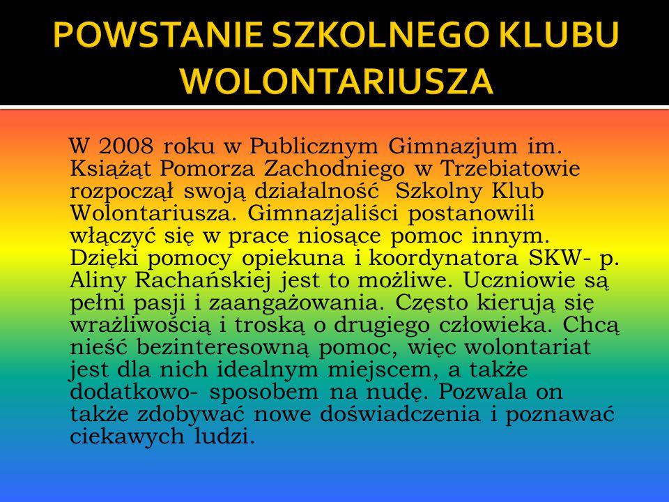 W 2008 roku w Publicznym Gimnazjum im.