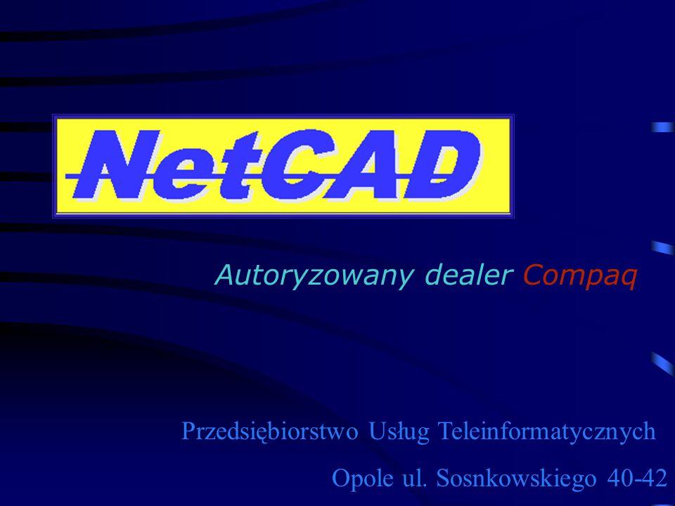 Przedsiębiorstwo Usług Teleinformatycznych Opole ul. Sosnkowskiego 40-42 Autoryzowany dealer Compaq