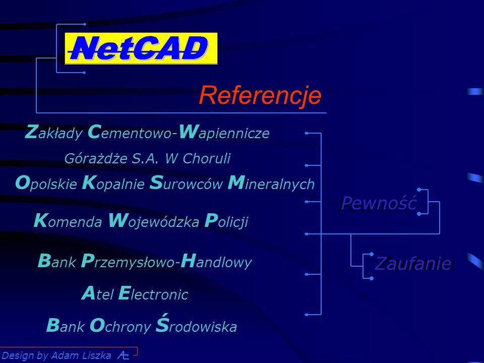 Design by Adam Liszka Referencje Z akłady C ementowo- W apiennicze Górażdże S.A.