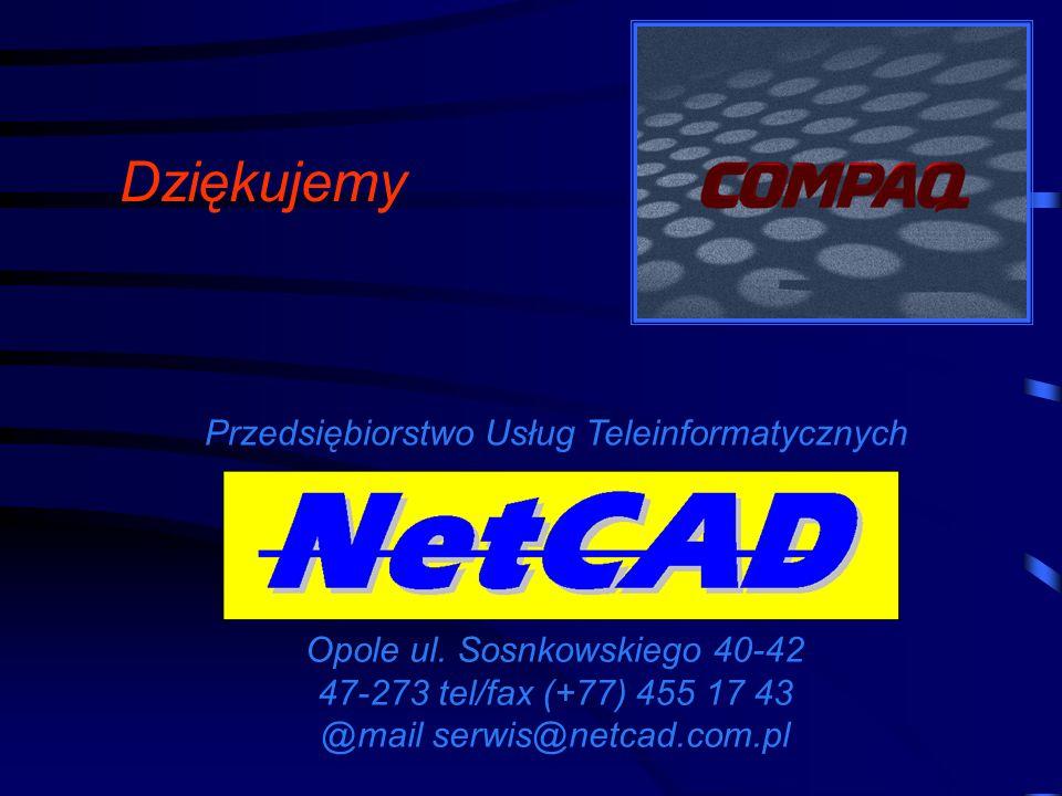 Dziękujemy Przedsiębiorstwo Usług Teleinformatycznych Opole ul.