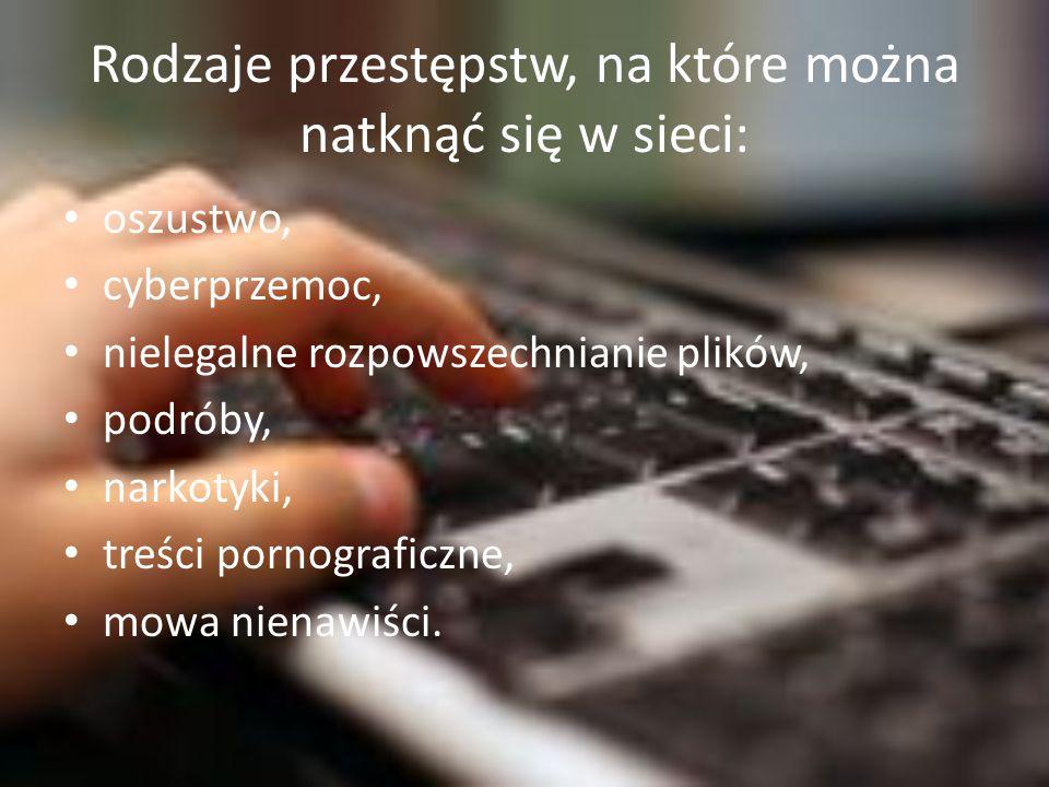 nielegalne uzyskanie programu komputerowego (art.278 § 2 K.k.), kradzież karty bankomatowej (art.