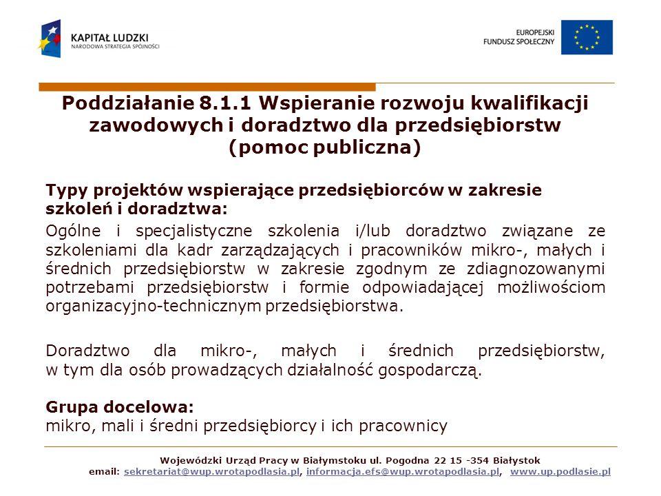 Wojewódzki Urząd Pracy w Białymstoku ul.