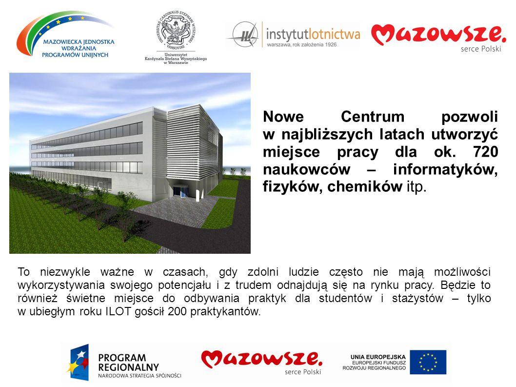 Nowy obiekt kompleks czterech budynków ułożonych w kształcie litery H.
