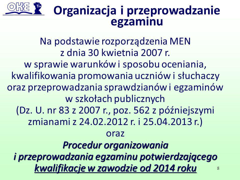 Na podstawie rozporządzenia MEN z dnia 30 kwietnia 2007 r. w sprawie warunków i sposobu oceniania, kwalifikowania promowania uczniów i słuchaczy oraz