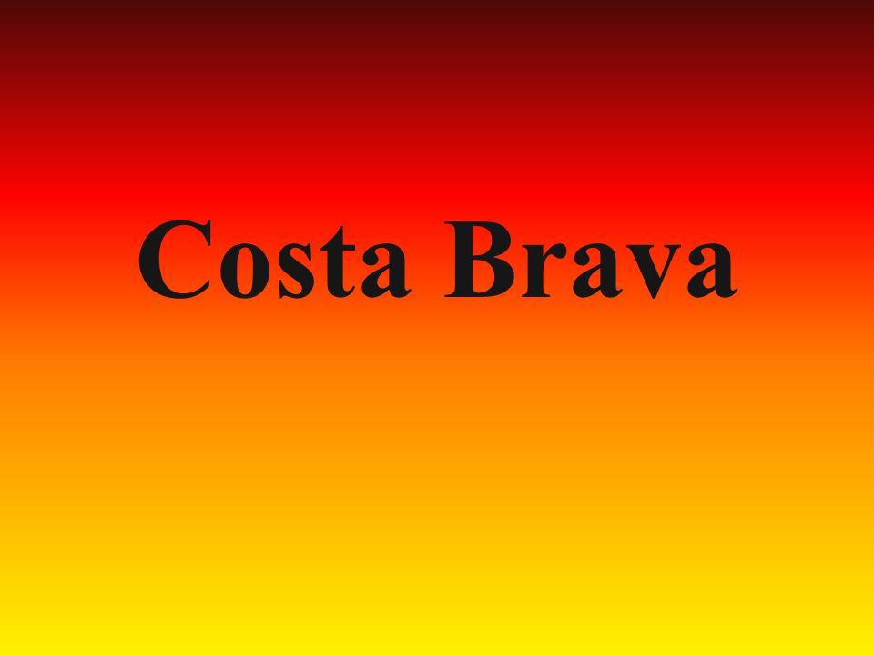 Costa Brawa rozciąga się od granicy z Francją aż po Blanes.