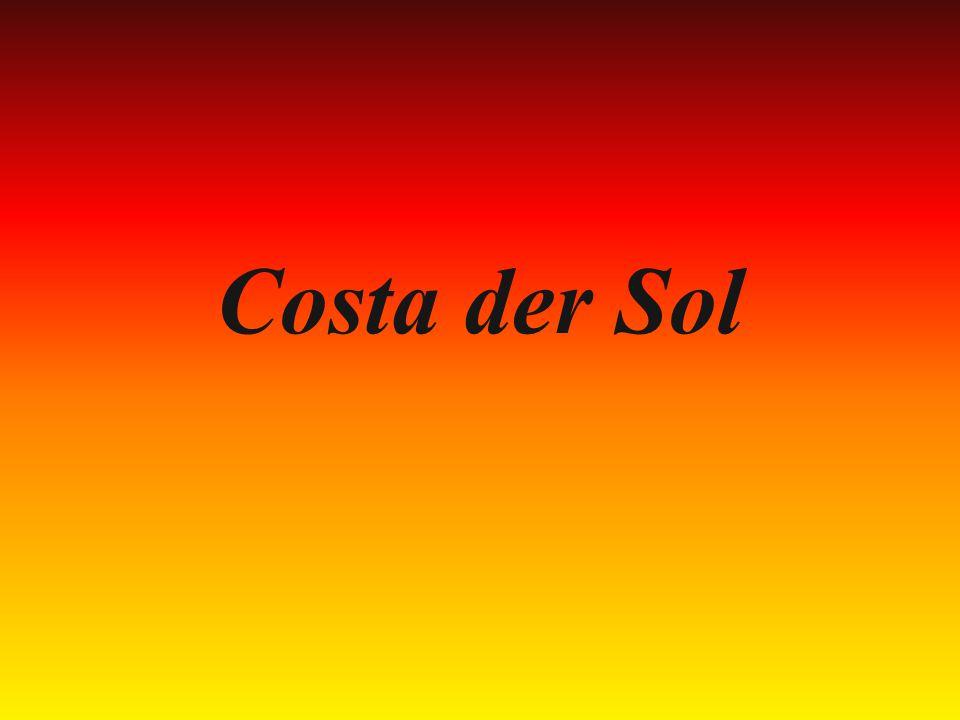 Costa der Sol czyli Wybrzeże Słońca Costa der Sol to region pełen plaż.