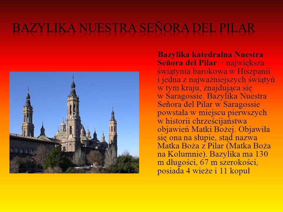 Escorial– monumentalny architektoniczny zespół pałacowo- klasztorno-biblioteczny w San Lorenzo de El Escorial, 45 kilometrów na północny zachód od Madrytu.