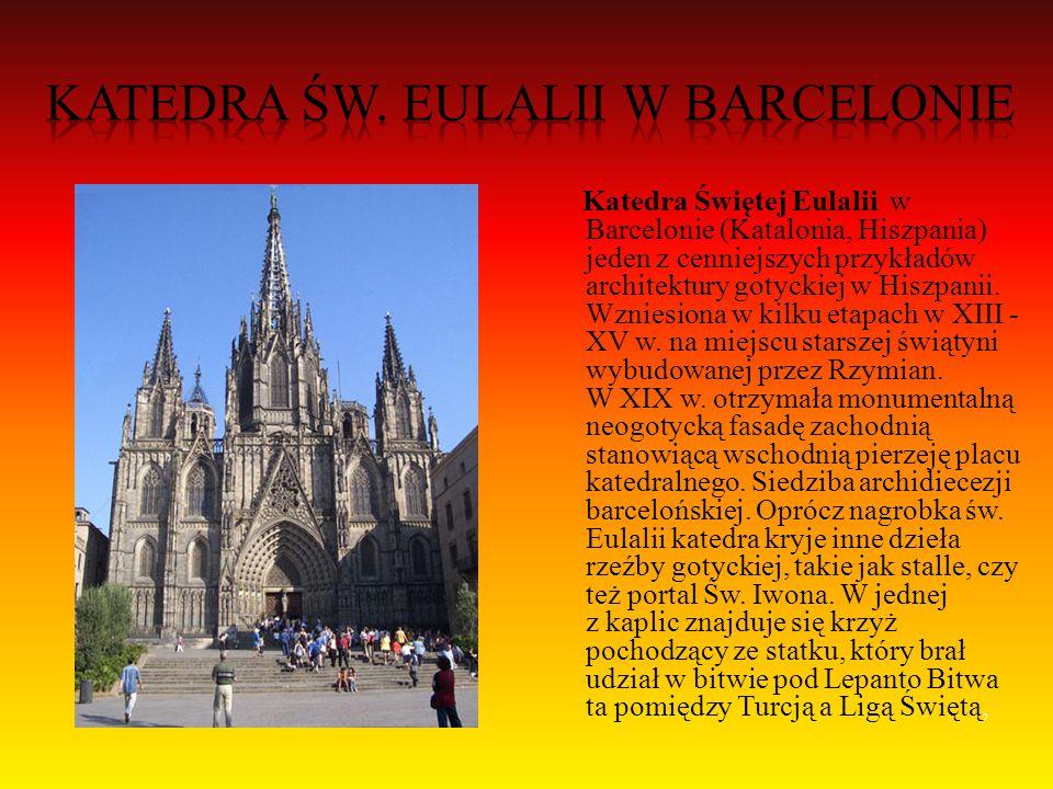 Katedra w Maladze - renesansowy kościół w Maladze, w Andaluzji, w południowej Hiszpanii.