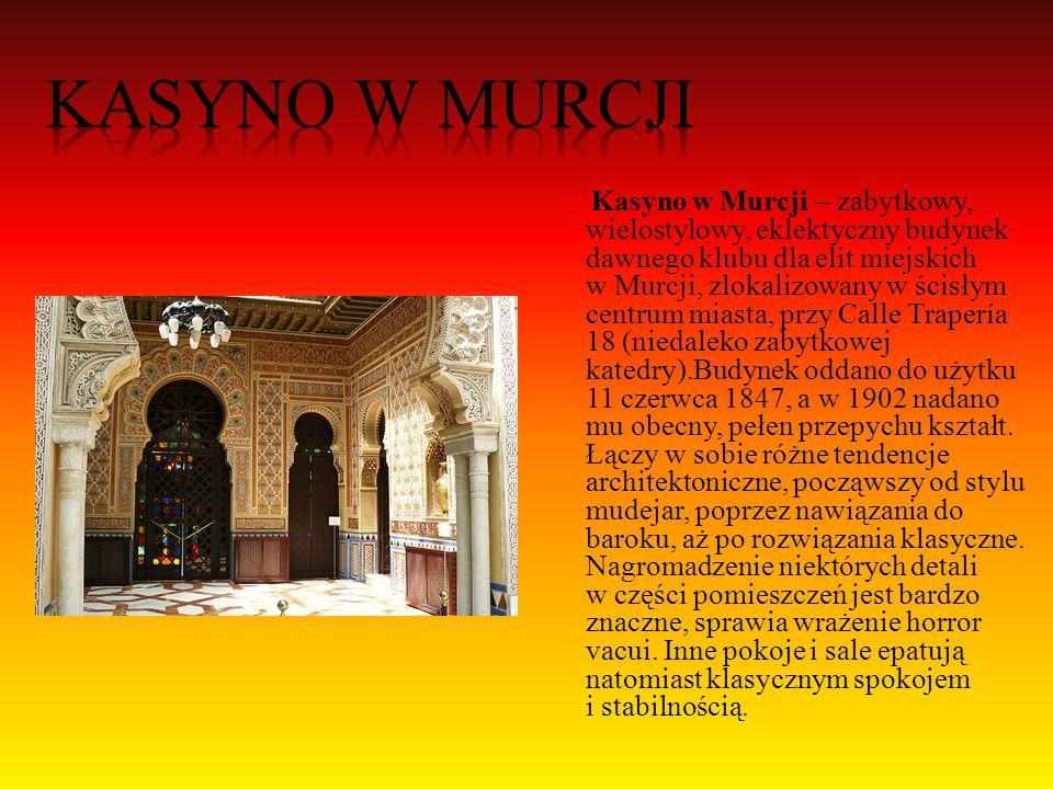 Katedra w Murcji– zabytkowy kościół katedralny w Murcji.