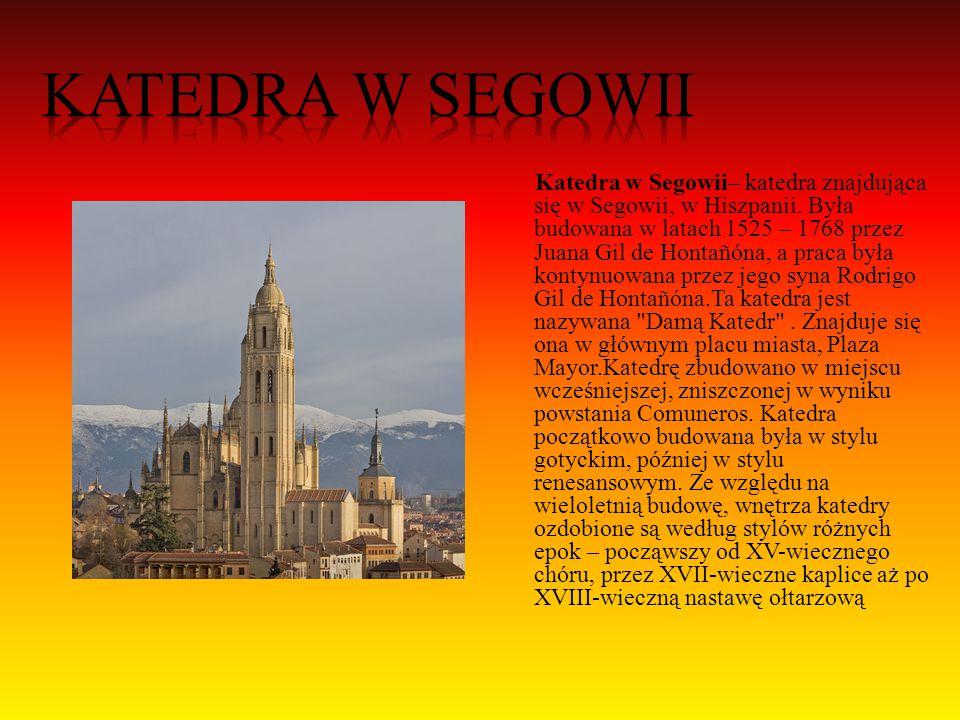 - - Madryt -Barcelona - -Toledo -Pampeluna - -Sewilla