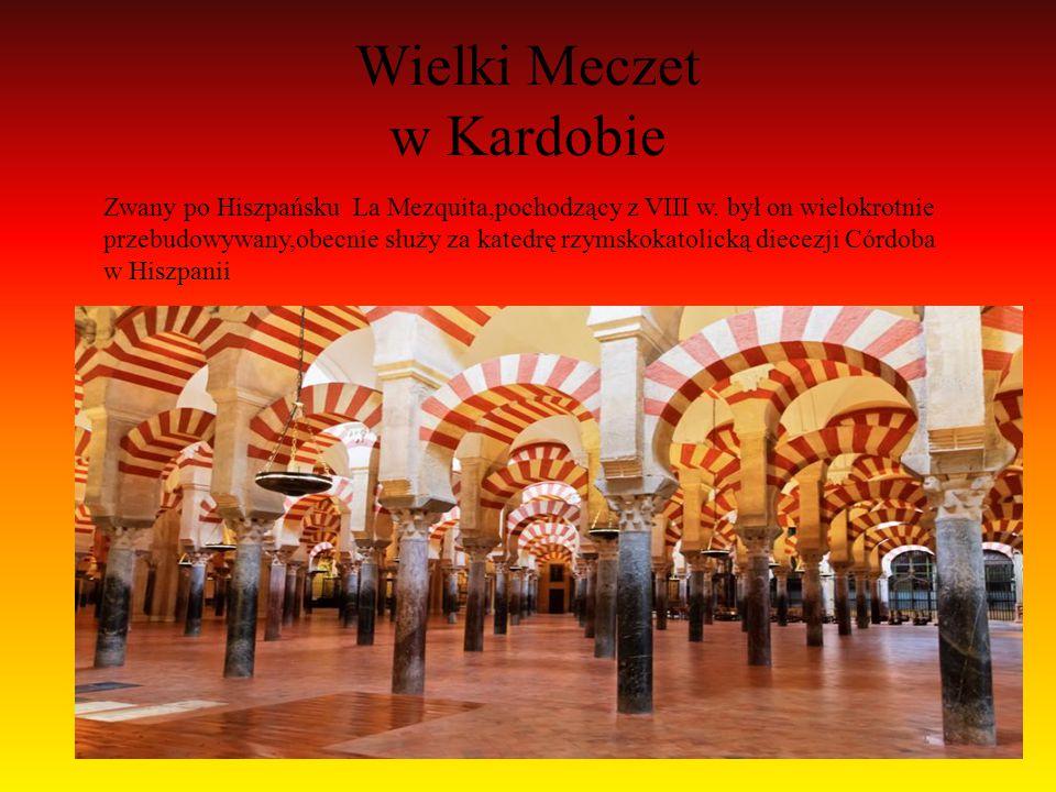 Alkazar w Sewilli Sławny pałac królewski,Którego początki sięgają XI w.