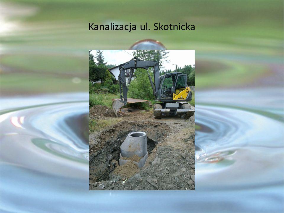 Kanalizacja ul. Skotnicka