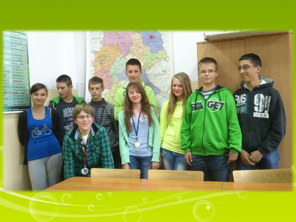 To my – grupa kontynuująca naukę języka niemieckiego z kl.