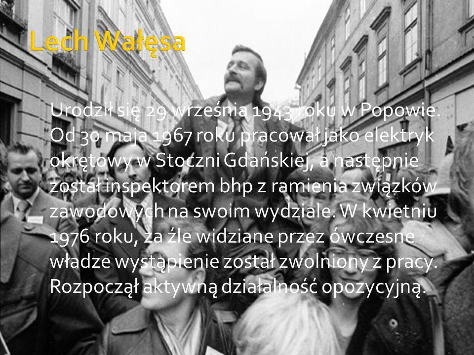 Urodził się 29 września 1943 roku w Popowie. Od 30 maja 1967 roku pracował jako elektryk okrętowy w Stoczni Gdańskiej, a następnie został inspektorem
