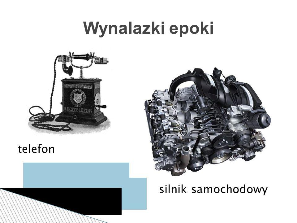 telefon silnik samochodowy Wynalazki epoki