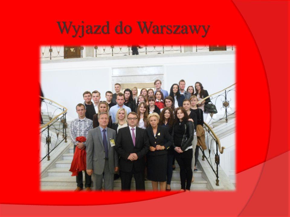 Wyjazd do Warszawy