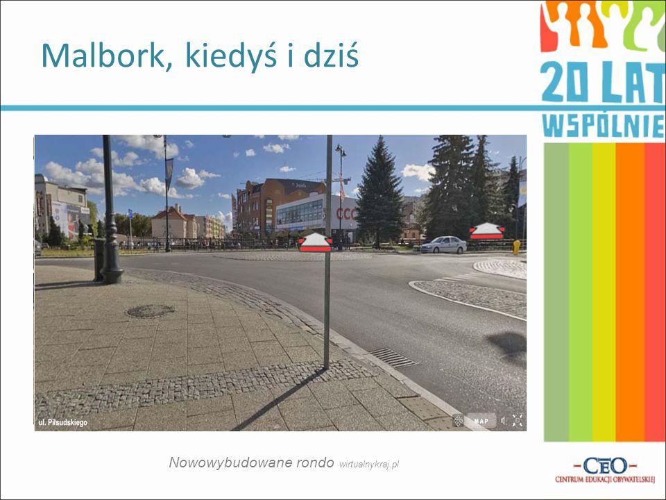 Nowowybudowane rondo wirtualnykraj.pl