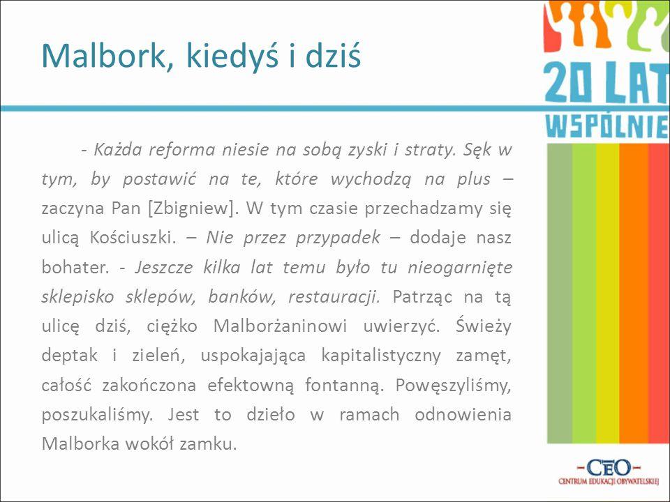 Malbork, ul. Kościuszki wirtualnykraj.pl