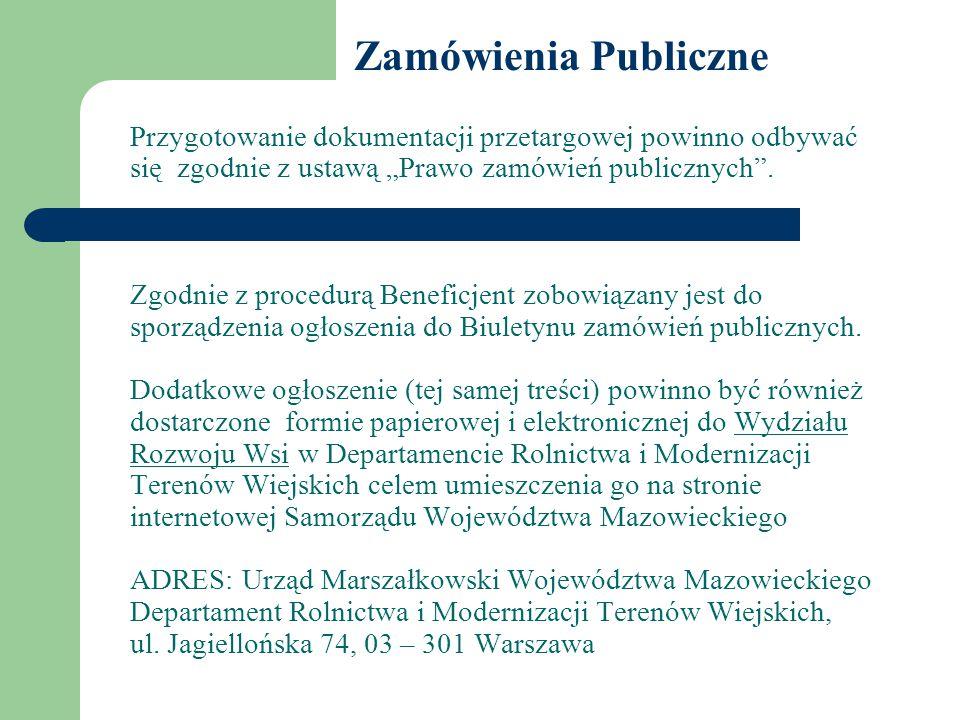 """Przygotowanie dokumentacji przetargowej powinno odbywać się zgodnie z ustawą """"Prawo zamówień publicznych ."""