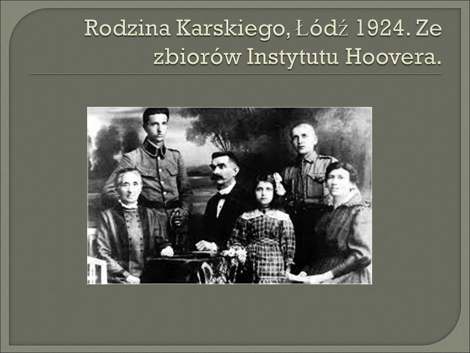  Po obowi ą zkowej kwarantannie po ucieczce z r ą k Niemców Karski ponownie zaanga ż owa ł si ę w dzia ł ania konspiracyjne.
