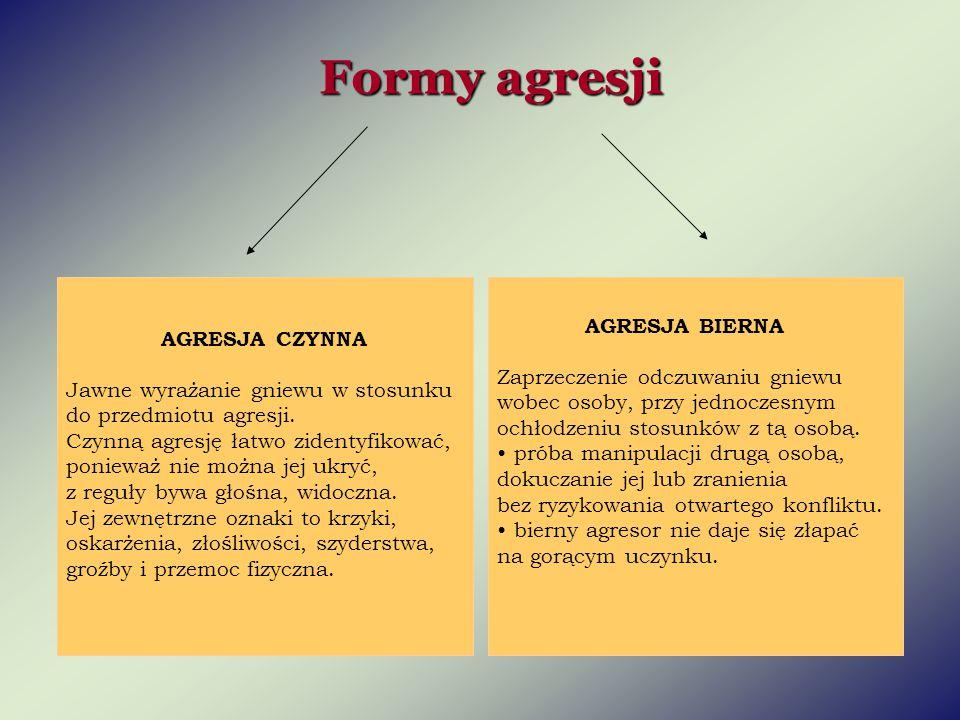 Czynniki wpływające na rozwój agresji: Czynniki wpływające na rozwój agresji:  Uwarunkowania indywidualne.