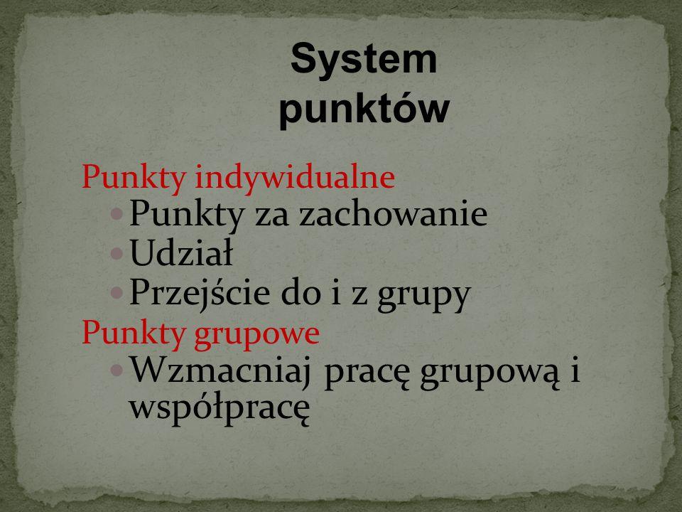 System punktów