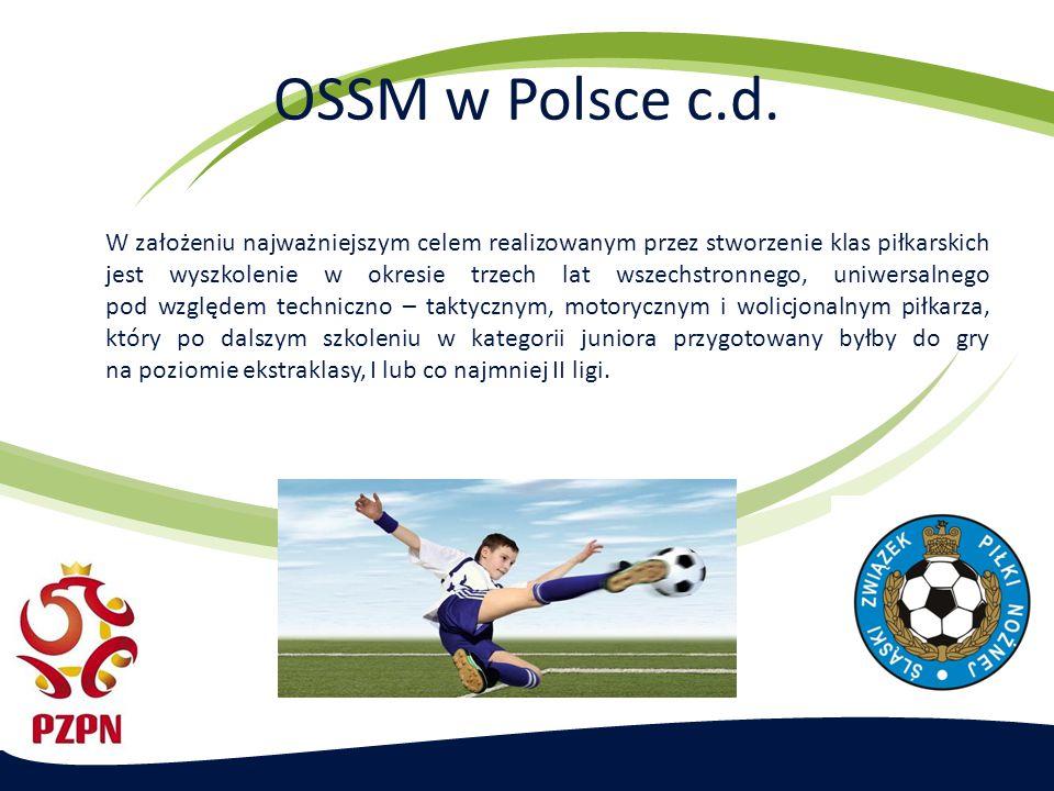 Model szkolenia sportowego piłkarzy w GOSSM Wytyczne teoretyczne i ramy programowe szkolenia Warunki organizacyjne przy prowadzeniu zajęć szkoleniowych w GOSSM: Liczba godzin na zajęcia: 12 godz.