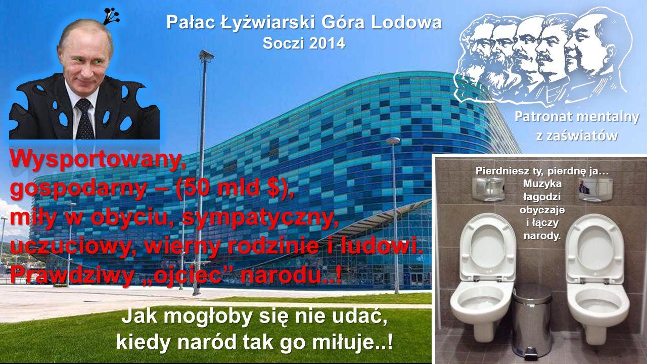 Wielki Pałac Lodu, Soczi 2014 Nie dotrzymacie terminu? Syberia czeka, miejsca jest dość…