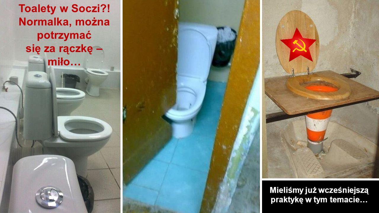 Toalety w Soczi?.