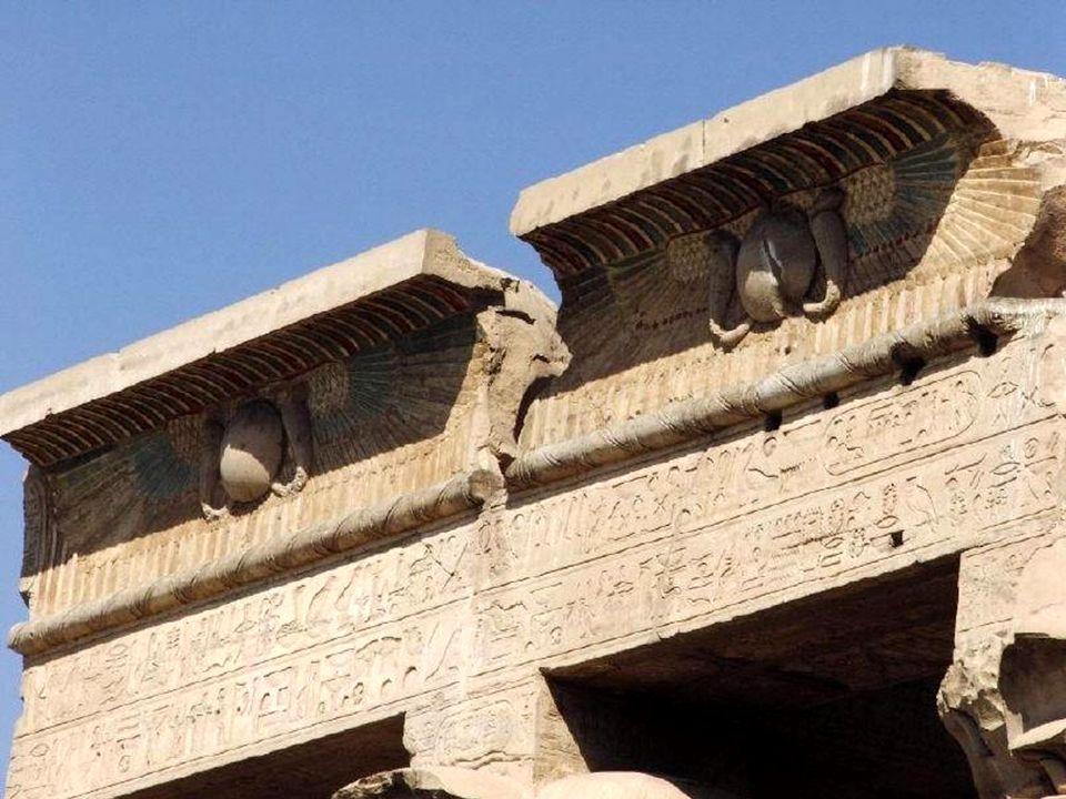 Świątynia poświęcona bóstwom : Sobek, Hathor i Chonsu.