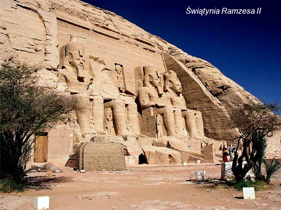 Świątynia Ramzesa IIŚwiątynia Nefertari Abu Simbel