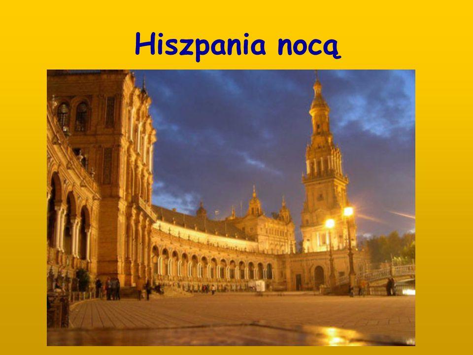Hiszpania nocą