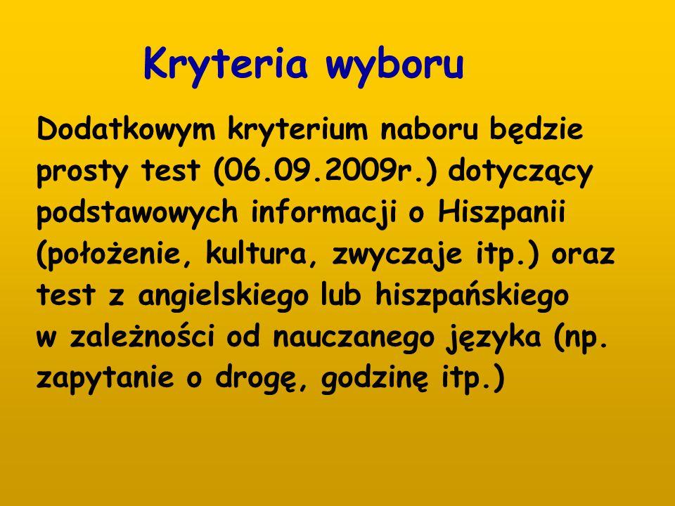 Osoby zainteresowane wypełniają formularz zgłoszeniowy zamieszczony na stronie internetowej szkoły www.zseu.plwww.zseu.pl w zakładce Być hotelarzem w Saragossie i nie tylko.