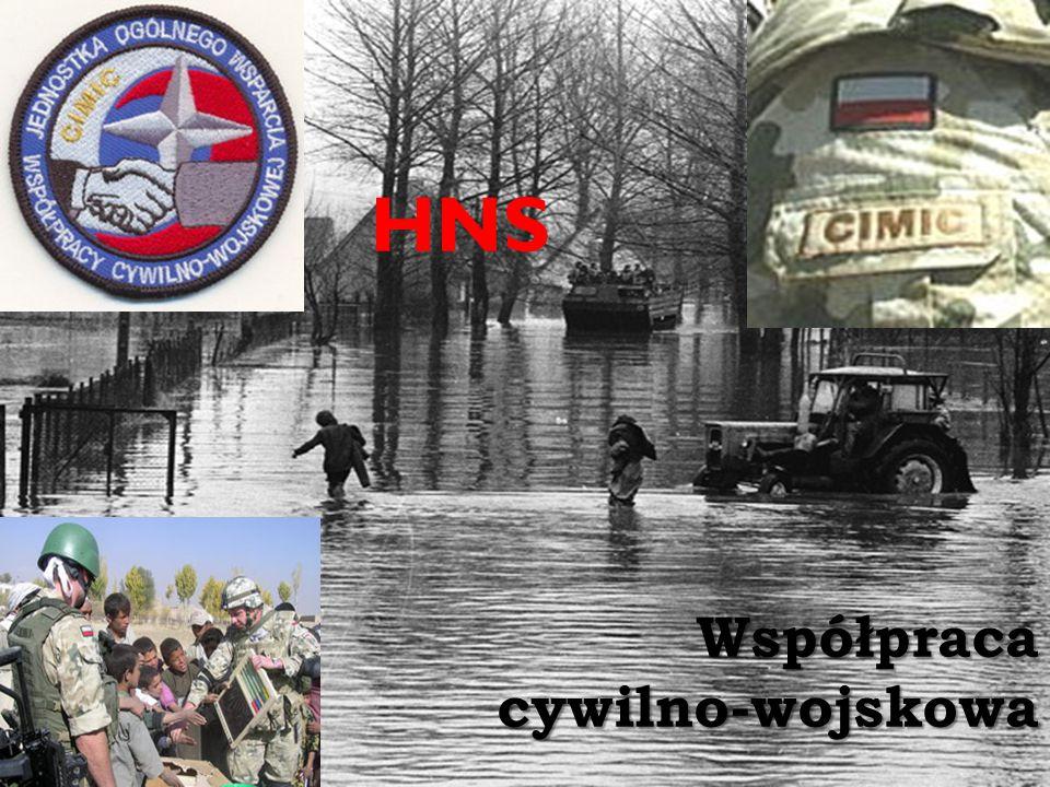 Współpraca cywilno-wojskowa HNS