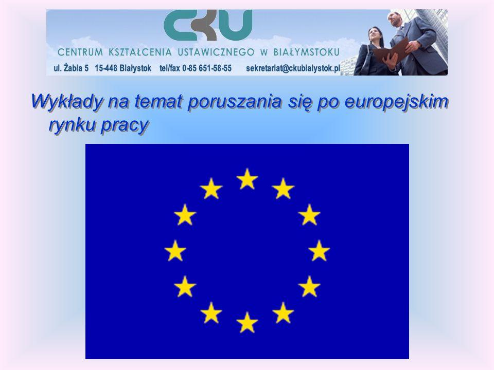 Wykłady na temat poruszania się po europejskim rynku pracy