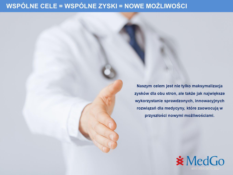 Tomasz Dziobiak Prezes Zarządu MedGo Tel: +48 533 950 170 tomasz.dziobiak@medgo.pl ZAPRASZAM DO WSP ÓŁ PRACY