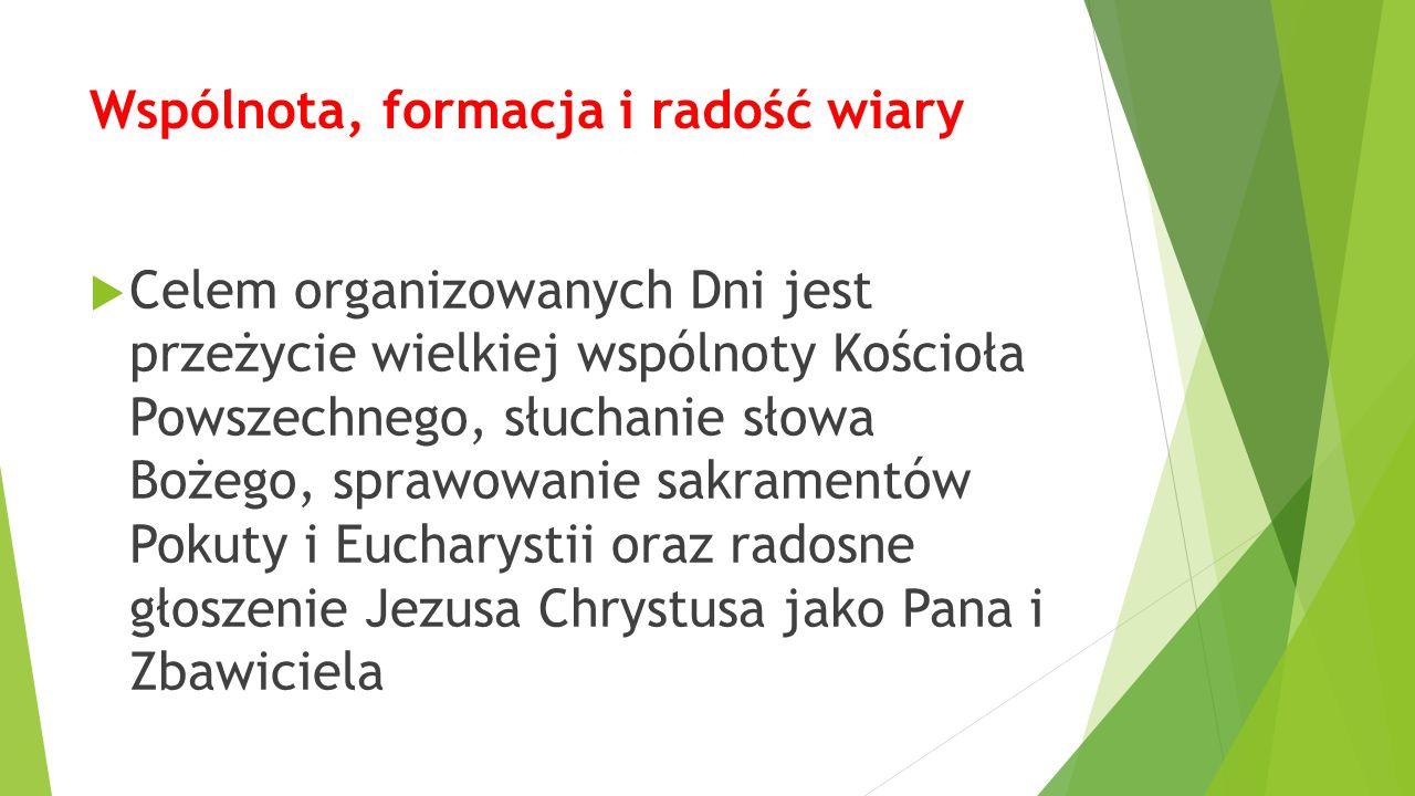 Przygotowanie Dni w Diecezji Rzeszowskiej